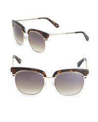 Balmain Multicolor 54mm Clubmaster Sunglasses