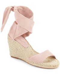 Splendid - Multicolor Jessica Open-toe Espadrille Wedge Sandals - Lyst