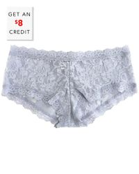 Hanky Panky Blue Signature Lace Panty With $8 Credit