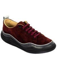 Lanvin Red Suede Sneaker for men