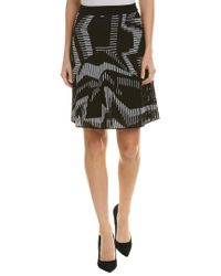 M Missoni Geo Knit Skirt (black) Skirt