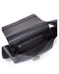3.1 Phillip Lim - Black Alix Leather Shoulder Bag - Lyst