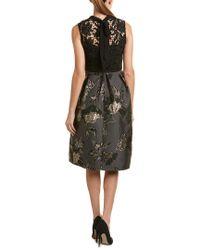 Hutch Black Midi Dress