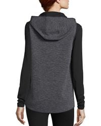Elie Tahari - Blue Amy Quilted-front Vest - Lyst
