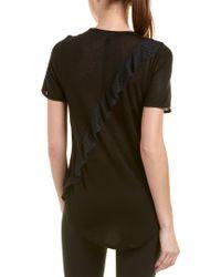 Koral Black Activewear Threshold Top