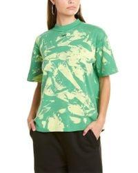 Off-White c/o Virgil Abloh Green Off-white Tie-dye T-shirt