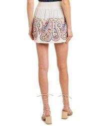 Ramy Brook Multicolor Maelen Mini Skirt