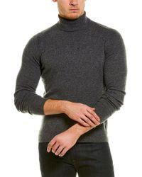 NAADAM Gray Cashmere Turtleneck for men