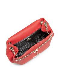 Love Moschino Red Heart Crossbody Bag