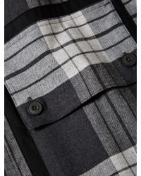Helmut Lang Multicolor Plaid Cotton Sport Shirt for men