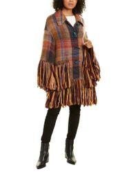 Missoni Brown Wool & Mohair-blend Cardigan