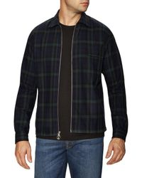 Timo Weiland Multicolor Drew Zip Front Shirt for men