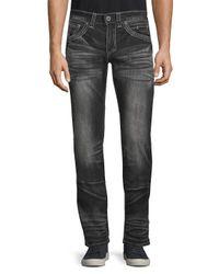 Affliction Black Cooper Fleur Jeans for men
