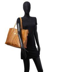 MCM - Brown Tote Leather Bag - Lyst