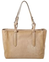 Frye Multicolor Reed Leather Tote