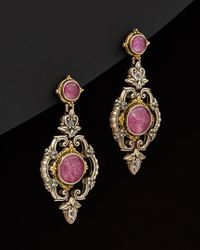 Konstantino - Multicolor Omorphia 18k & Silver 16.00 Ct. Tw. Gemstone Drop Earrings - Lyst