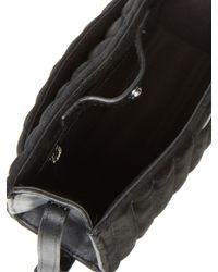 Steven Alan Black Camden Ribbed Crossbody Bag
