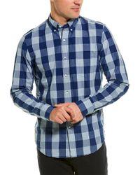 J.Crew Blue Slim Wash Woven Shirt for men
