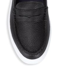 Cole Haan Black Nantucket Casual Leather Loafers