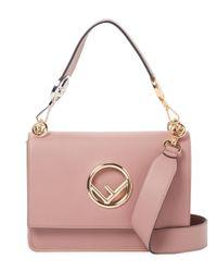 Fendi Pink Leather Bag
