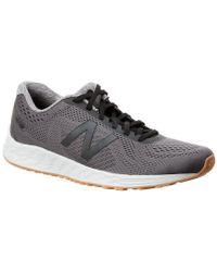 New Balance Gray Fitness Mesh Running Sneaker for men