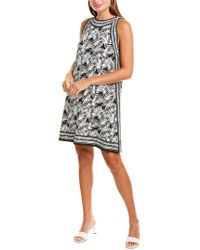 Max Studio Black Jersey Shift Dress