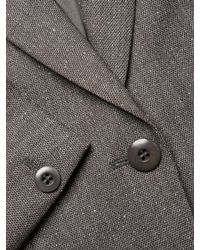 Max Mara Gray Gianna Wool Jacket