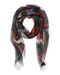 Valentino Garavani Multicolor Cashmere & Silk-blend Scarf for men
