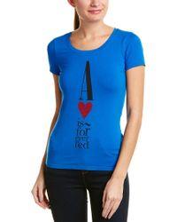 Armani Jeans - Blue T-shirt - Lyst