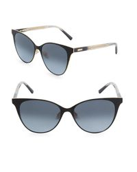 Saint Laurent Multicolor 54mm Boucheron Cat-eye Sunglasses