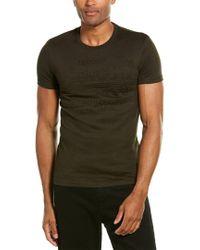 Superdry Green Embossed T-shirt for men