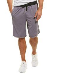 Nike Gray Dri-fit Basketball Short for men