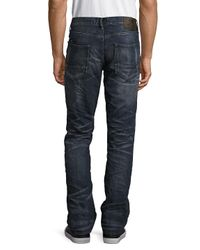 PRPS Blue Chairman Cotton Five-pocket Jeans for men