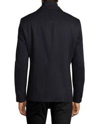 Hart Schaffner Marx - Blue Broderick Technical Outerwear Jacket With Detachable Knit Bib for Men - Lyst