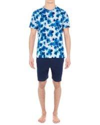 Hom Blue Short Sleepwear for men