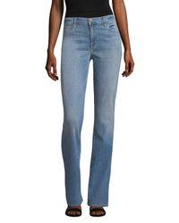 J Brand Blue Litah High Rise Boot Jean