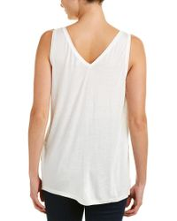 Reiss White Lilienne Top