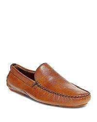 Steve Madden - Multicolor Leather Slip-on Moccasins for Men - Lyst