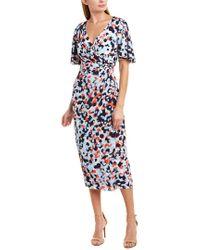 Maggy London Blue Maxi Dress