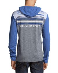 Affliction | Gray Athletic Division Hoodie for Men | Lyst