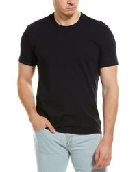 James Perse Blue Back Palm Graphic T-shirt for men