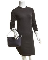 Longchamp Blue Le Pliage Nylon Shoulder Bag