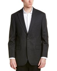 Brooks Brothers Gray 346 Madison Fit Wool-blend Jacket for men