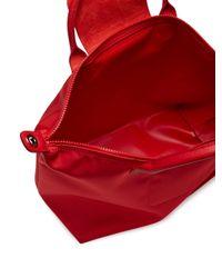 Longchamp - Red Le Pliage Neo Medium Top Handle - Lyst