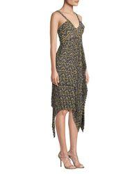 A.L.C. Multicolor Kendall Printed Handkerchief Dress