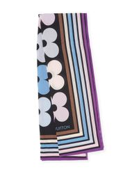 Louis Vuitton - Vintage Blue Mattress Stripes Shawl - Lyst