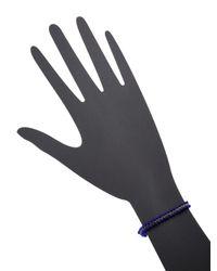 Isabel Marant Blue Braided Bracelet