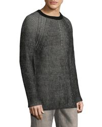 IRO - Black Melvis Knit Sweater for Men - Lyst