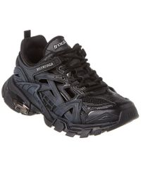 Balenciaga Black Track.2 Neoprene & Rubber Sneaker