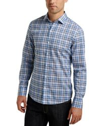 Zachary Prell Blue Habermann Shirt for men